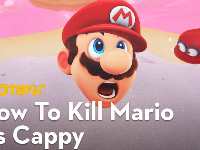 Turns Out, Cappy Can Kill You In Super Mario Odyssey