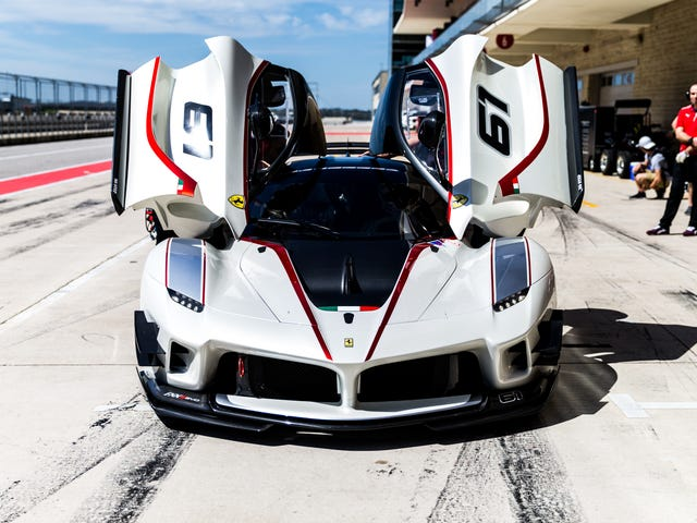 All The Insane Toys You Play With If You're Rich Enough To Be A Ferrari Corse Clienti Customer