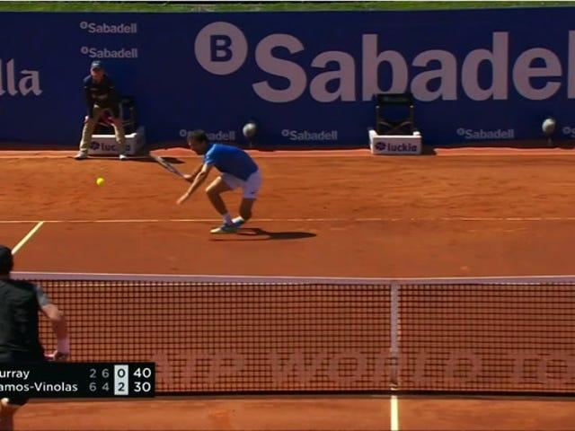 Andy Murray ra khỏi đây phá vỡ mắt cá chân