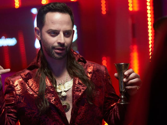 Nick Kroll is...Simon the Devious on an accident-prone What We Do In The Shadows
