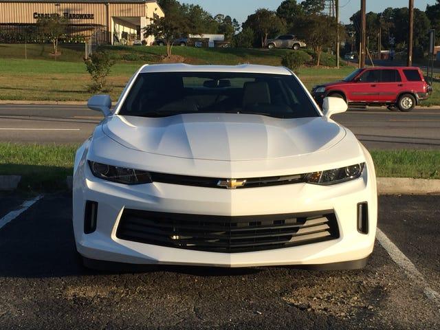 Hooker köpte en ny bil