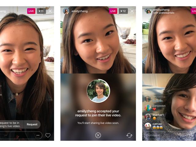 Sådan tilmelder du en persons Instagram Live og Broadcast som gæst