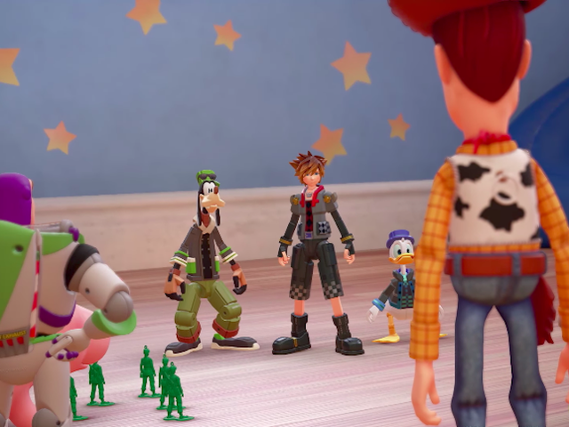 <i>Kingdom Hearts III</i> Director Says It&#39;s Square-fout Het spel duurt zo lang