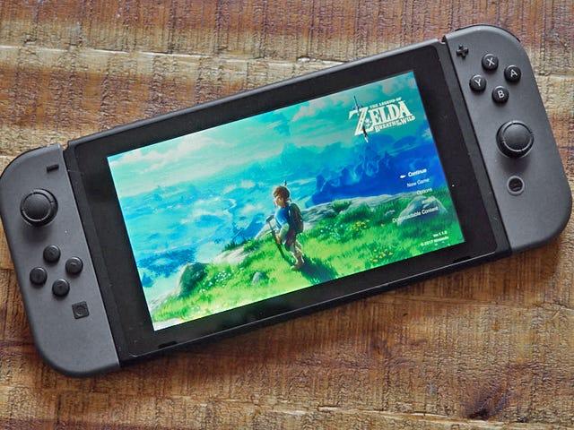 Báo cáo: Nintendo's Got a Rẻ hơn, nhỏ hơn Nintendo Switch sắp ra mắt vào mùa thu này
