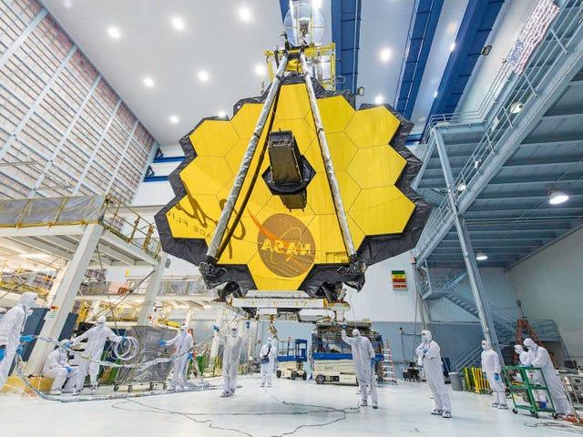 Η NASA απομακρύνεται από τον ιστοχώρο του James Webb το 2019, ο οποίος εκπέμπει το Hubble