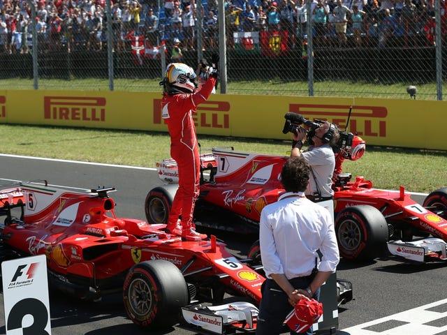 Sebastian Vettel vient de faire le tour le plus rapide de tous les temps au Hungaroring
