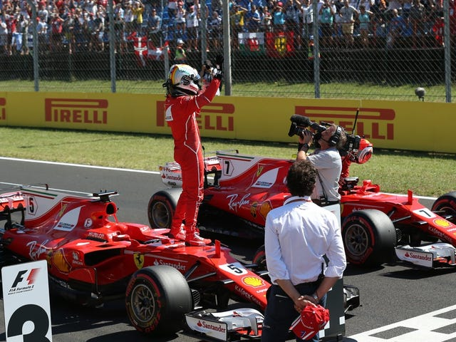 Sebastian Vettel Hanya Mengatur Putaran Tercepat Di Hungaroring