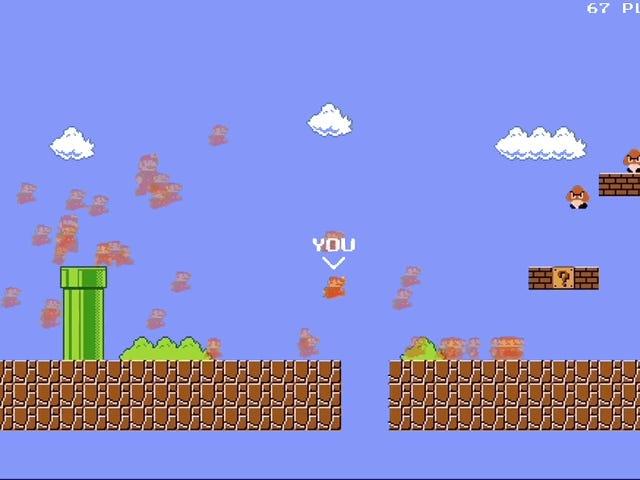 Seseorang Mengubah Mario Menjadi Battle Royale, Dan Ini Hal Terbaik