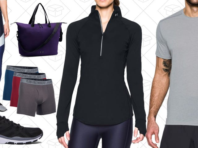 Give Your Old Workout Gear a Break With This Under Armour Sale