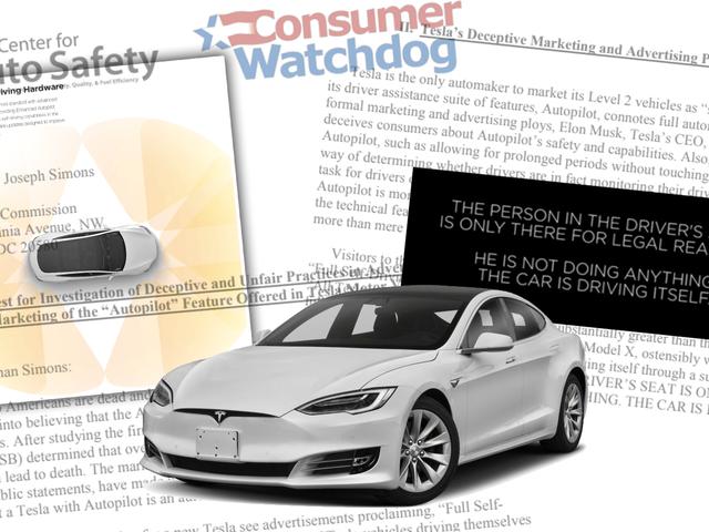 Consumer Group Says Tesla's Autopilot Is 'Deceptive,' Calls For Investigation