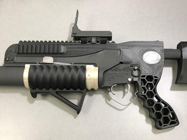 Le nouveau lance-grenades imprimé en 3D de l'Armée de terre est tout droit sorti de la science-fiction