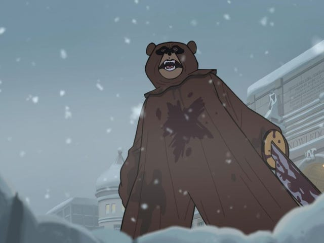 The Venture Bros. presents: The lawn dart, the bear, and the wardrobe