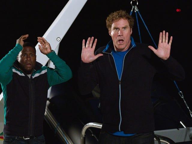 Ferrell과 Kevin Hart Get Hard 통해 러쉬하고 허세 부릴 것입니다.