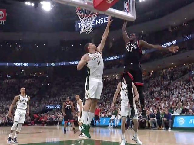 """Pascal Siakam Reduces """"Splash Mountain"""" To Rubble With Savage Dunk"""