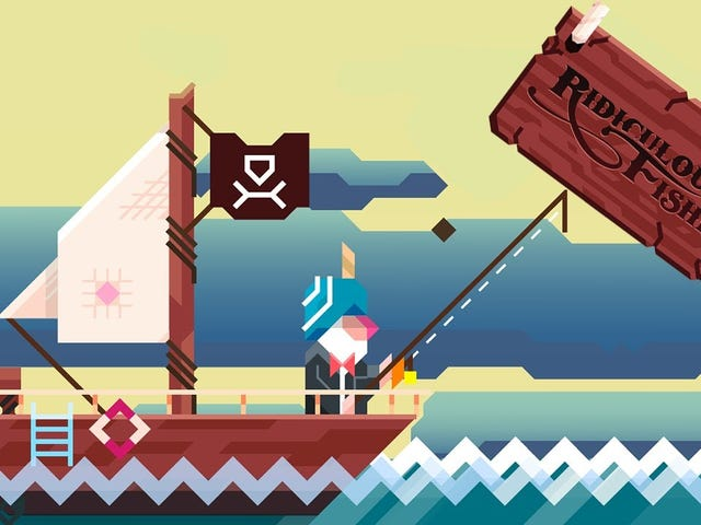 Five Years Later, Ridiculous Fishing is Still The Best Mobile Game Available