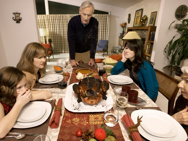 Our country's deep divisions have a silver lining: shorter Thanksgiving dinner