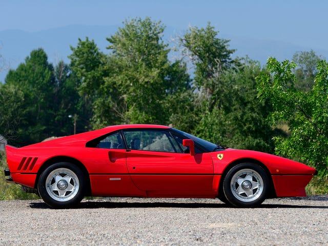 Kryminalny Mastermind Kradnie Ferrari 288 GTO na jazdę próbną