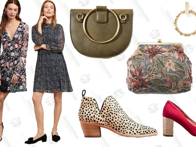 Take 30% Off Dresses, Shoes, and Accessories at Anthropologie, Just in Time For Holiday Party Season