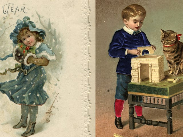Hottest Toys of 1898: Toy Ducks and Chickens, Ribbon for 'KittyKins'