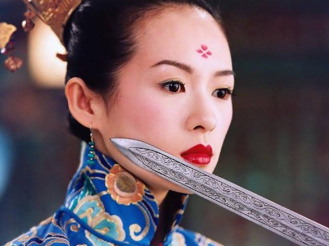 Zhang Ziyi and Wuxia films