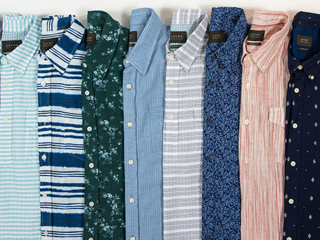 Take 50% Off Lightweight Short Sleeve Button Downs From Jachs (From $29)