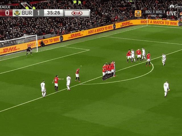 Steven Defours frispark Golazo bidro til skuffelse Manchester United