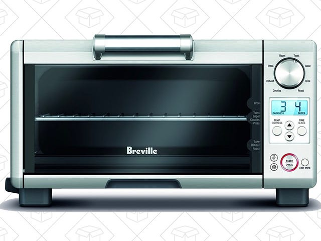 This Reader-Favorite Breville Mini Smart Oven Is Only $120 Today