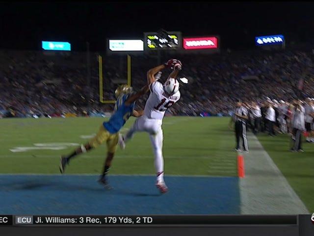 Stanford havde brug for 59 minutter for at score et touchdown, men det ene er alt, hvad de havde brug for