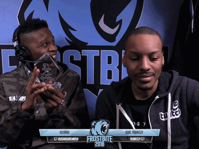 评论员Just Straight Up Drops <i>Smash</i> Player的第一个奖杯