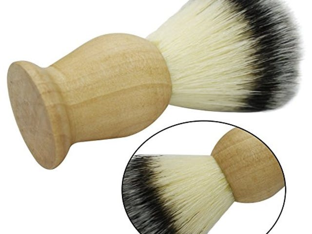This 100% Pure Badger Shaving Brush Makes Your Face Soft $7.99