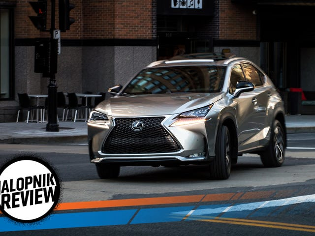 The 2017 Lexus NX200T Does Compact Luxury Right Even If It Isn't Fast