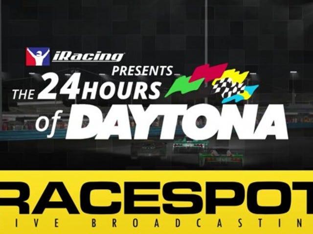 OppositeLock / Digital Burnouts resmi takımı iRacing 24 saat Daytona'ya kaydoldu
