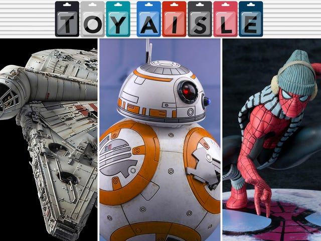 A Hot Toys BB-8 of Your Very Own, and More of the Loveliest Toys of the Week