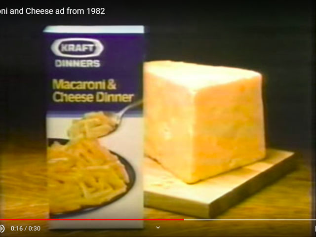 Makaroner och ost