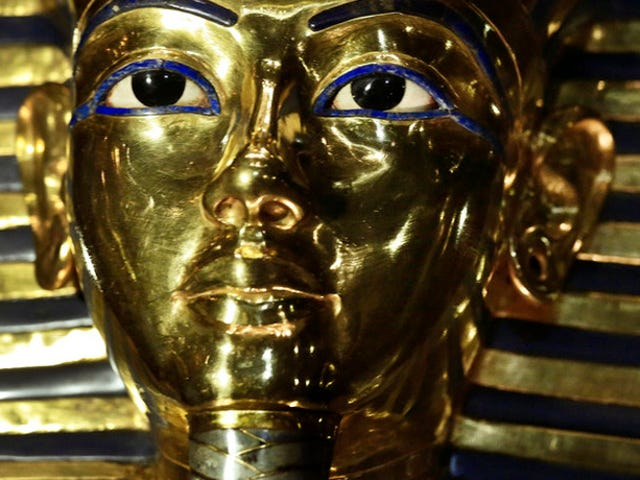 King Tut's Mask is Back On Display Following That Botched Repair Attempt