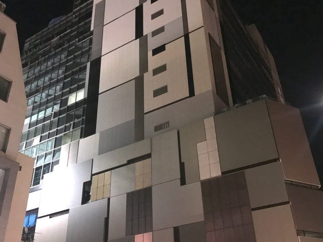 Blocky Building. Tokyo, Japan. By Jon | Official Site