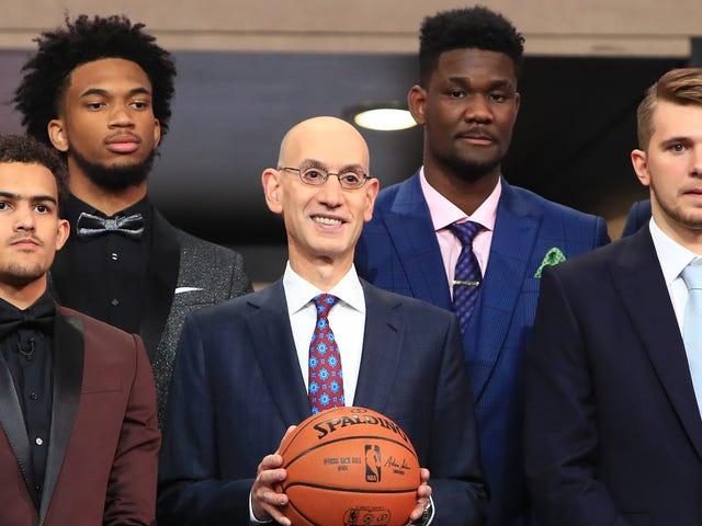 Вот как прошел первый раунд драфта НБА
