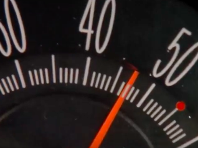 Here Is The Movie Speed Edited Down To Just The Speedometer