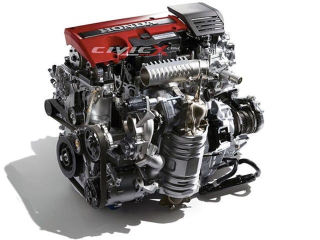 Τι μπορείτε να πείτε για το 2017 Honda Civic Type-R κινητήρα εξετάζοντας αυτό;