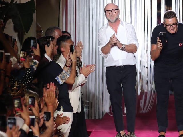 Dolce & Gabbana Cancels Shanghai Show After Uproar Over Racist Videos