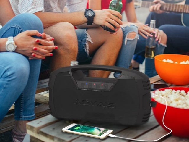 Pump Up the Volume With This Massive Bluetooth Speaker, Now $20 Off