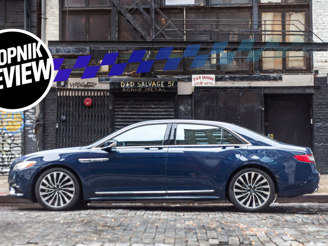 The 2018 Lincoln Continental Is The Car Lincoln Should've Made 20 Years Ago