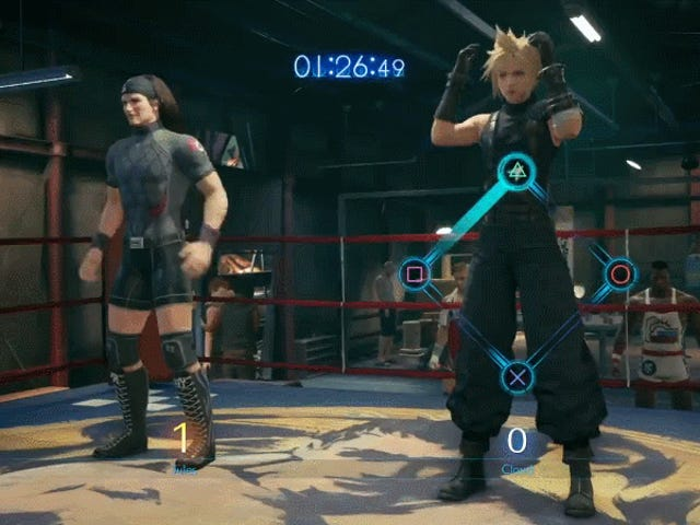 How To Crush Jules In Final Fantasy VII Remake's Absurd Squat Contest