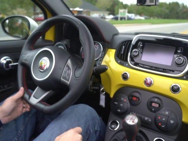 I drove a fiat
