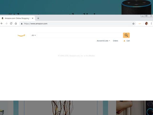 Le site Web d'Amazon est un désordre maladroit - voici comment le faire sucer moins