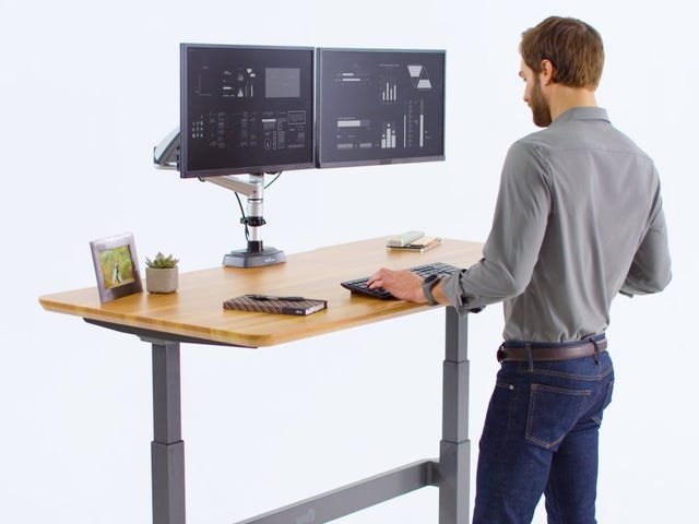 Varidesk Goes Electric Part 1: ProDesk 60 Electric