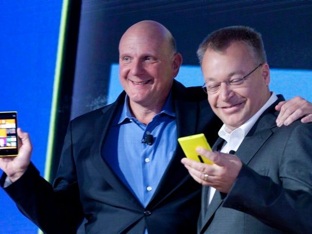 Det är inte säkert att Nokia har en Microsoft-anslutning?  Como Poco, 8 mil millones de dólares