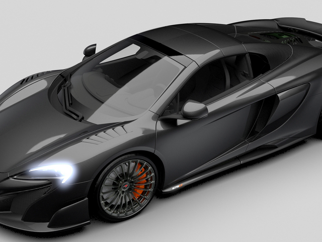 How Much More Carbon Fiber Can This Special Edition McLaren 675LT Have? None. None More.