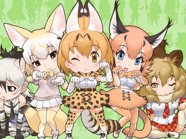 Enjoy the newest promo of the anime of Kemono Friends