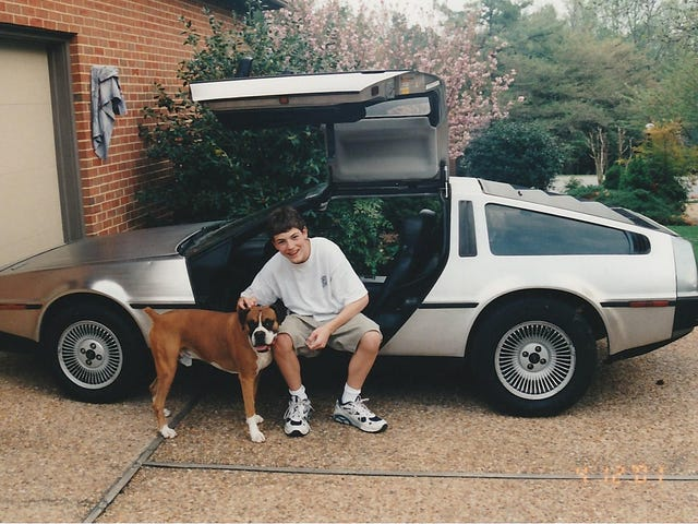 Back in Time to my first Car - 1983 DeLorean
